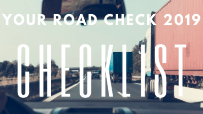 Your Road Check 2019 Checklist