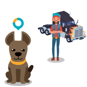 cdl driver with pet